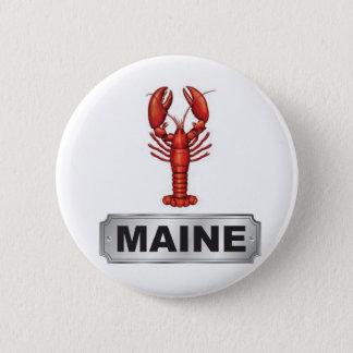 Bóton Redondo 5.08cm Lagosta de Maine
