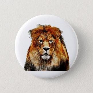 Bóton Redondo 5.08cm Leão africano