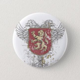 Bóton Redondo 5.08cm leão da coroa e a marca