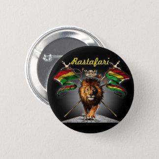 Bóton Redondo 5.08cm Leão do botão de Judah: com leão e bandeira