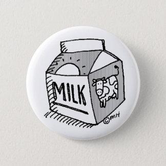 Bóton Redondo 5.08cm leite