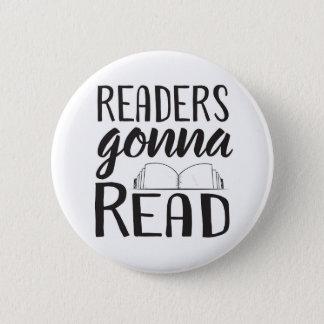 Bóton Redondo 5.08cm Leitores que vão ler