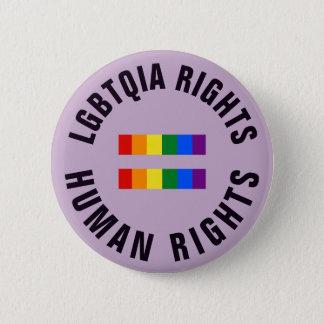 Bóton Redondo 5.08cm LGBTQIA endireita direitos humanos iguais