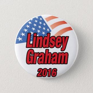 Bóton Redondo 5.08cm Lindsey Graham para o presidente em 2016