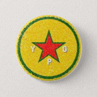 Bóton Redondo 5.08cm logotipo 3 do ypg