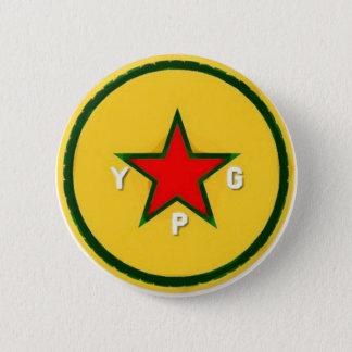 Bóton Redondo 5.08cm logotipo 4 do ypg