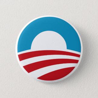Bóton Redondo 5.08cm Logotipo de Obama