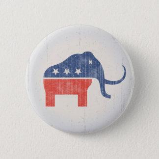 Bóton Redondo 5.08cm Logotipo do Mammoth do GOP