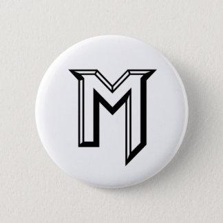 Bóton Redondo 5.08cm Logotipo mestre de M