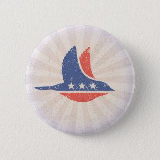 Bóton Redondo 5.08cm Logotipo social de Democrata