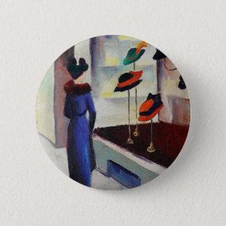 Bóton Redondo 5.08cm Loja de chapéu - August Macke