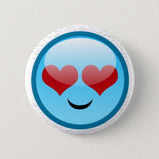 BÓTON REDONDO 5.08CM LOVE SMILLE