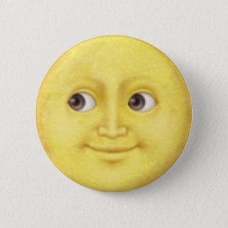 Bóton Redondo 5.08cm Lua Emoji