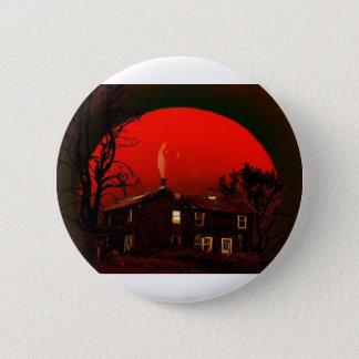 Bóton Redondo 5.08cm lua vermelha