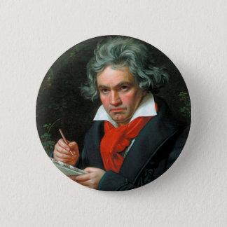 Bóton Redondo 5.08cm Ludwig van Beethoven