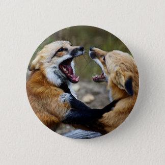 Bóton Redondo 5.08cm Luta do Fox vermelho