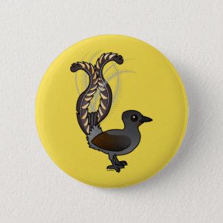 Bóton Redondo 5.08cm Lyrebird magnífico de Birdorable