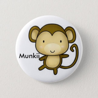 Bóton Redondo 5.08cm macaco, Munkii