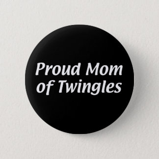 Bóton Redondo 5.08cm Mamã de Twingles