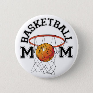 Bóton Redondo 5.08cm Mamã do basquetebol