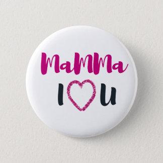 Bóton Redondo 5.08cm Mamães eu te amo