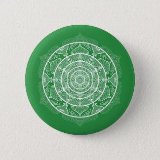 Bóton Redondo 5.08cm Mandala da alga