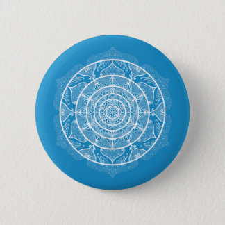 Bóton Redondo 5.08cm Mandala do Bluebird