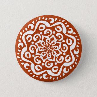 Bóton Redondo 5.08cm Mandala do Henna