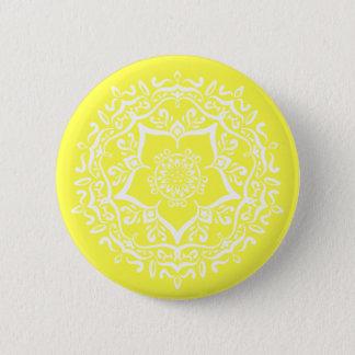 Bóton Redondo 5.08cm Mandala do limão