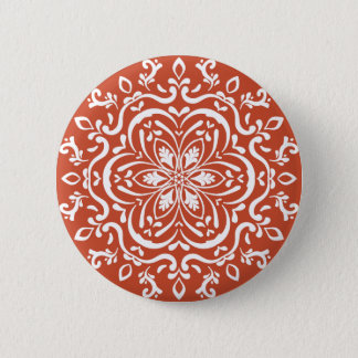 Bóton Redondo 5.08cm Mandala do Terracotta