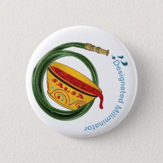 Bóton Redondo 5.08cm Mangueira de jardim de Luis do santo & botão da