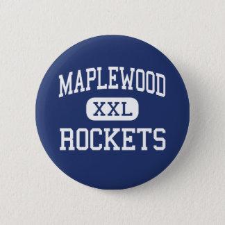 Bóton Redondo 5.08cm Maplewood - Rockets - segundo grau - Cortland Ohio