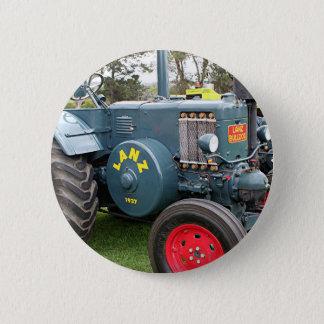 Bóton Redondo 5.08cm Maquinaria de fazenda velha do trator do buldogue