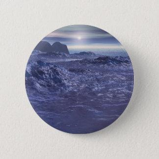 Bóton Redondo 5.08cm Mar congelado de Netuno