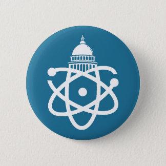 Bóton Redondo 5.08cm Março para o Pin da ciência