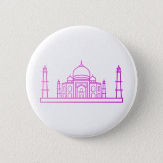 Bóton Redondo 5.08cm Marcos - botão de Taj Mahal