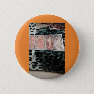 Bóton Redondo 5.08cm Maria, trabalhos de arte   de s