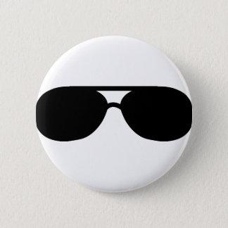 Bóton Redondo 5.08cm máscaras dos óculos de sol do proxeneta