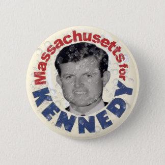 Bóton Redondo 5.08cm Massachusetts para o botão da sátira de Kennedy