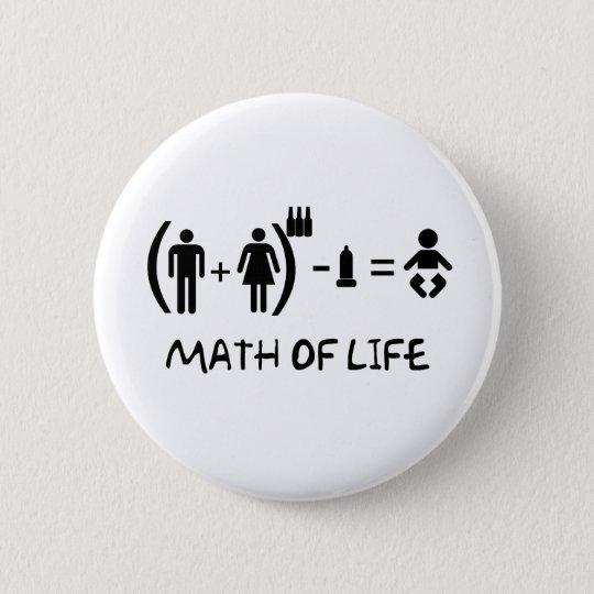 BÓTON REDONDO 5.08CM MATH OF LIFE