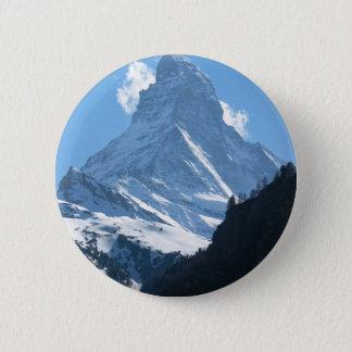 Bóton Redondo 5.08cm Matterhorn, Zermatt