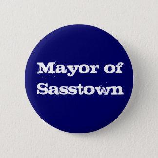 Bóton Redondo 5.08cm Mayor do botão de Sasstown