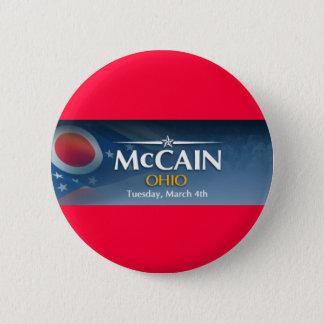 Bóton Redondo 5.08cm McCain para Ohio