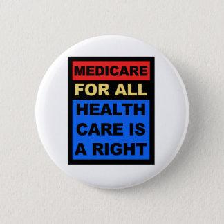 Bóton Redondo 5.08cm Medicare para tudo - os cuidados médicos são um