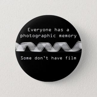 Bóton Redondo 5.08cm Memória fotográfica - botão