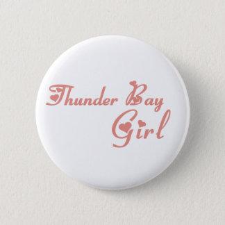 Bóton Redondo 5.08cm Menina de Thunder Bay