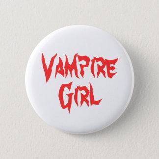 Bóton Redondo 5.08cm Menina do vampiro