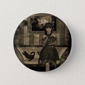 Bóton Redondo 5.08cm Meninas góticos: Botão de memórias