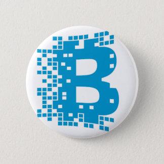 Bóton Redondo 5.08cm Mercadoria de Bitcoin