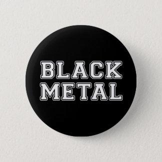 Bóton Redondo 5.08cm Metal preto